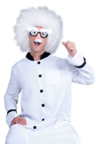 Forum Novelties Men's Instant Mad Scientist Costume Accessory Kit, Multi, One size (Scientist Glasses)