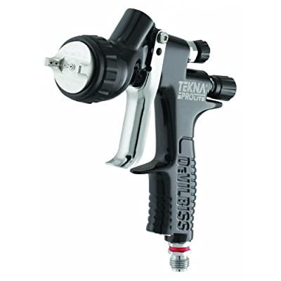 Tekna 703567 1.2mm/1.3mm/1.4mm Fluid Tip Prolite Spray Gun with TE10 and TE20 Air Caps: Automotive
