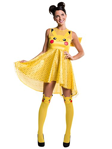 Rubie's Costume Co Women's Pokemon Pikachu Costume Dress,