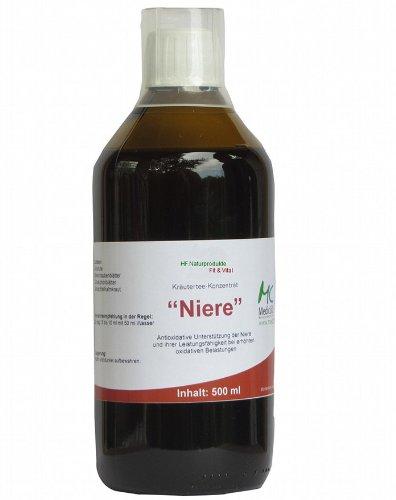 Niere Tee Konzentrat 500 ml zur antioxidativen Unterstützung der Niere