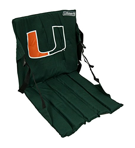- Zeckos Miami Hurricanes Cushioned Roll Up Stadium Seat