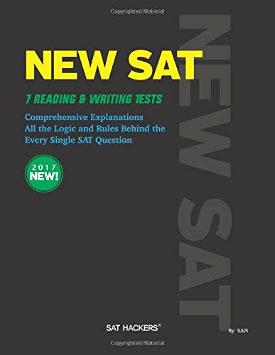 New SAT reading and writing hackers test: ddd (Volume 1)