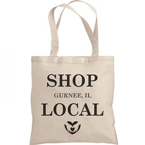Shop Local Gurnee, IL: Liberty Bargain Tote Bag (City Of Gurnee Il)