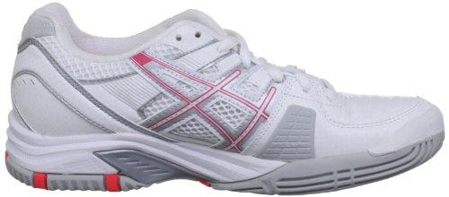 Pink Challenger diva tennis lightning W 9 white Sportive Scarpe Oc Gel Asics Bianco Donna qHwSOfS