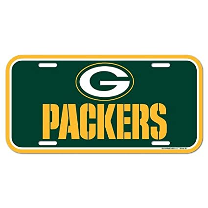 Amazon.com: NFL Green Bay Packers License Plate: Sports & Outdoors
