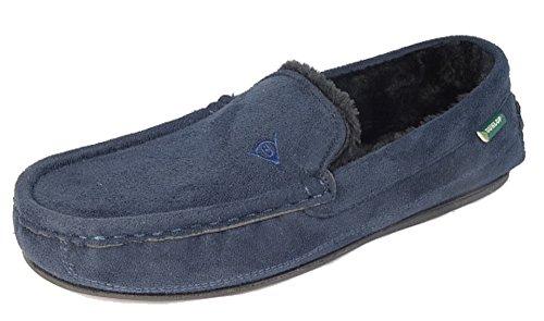 Dunlop LEWIS, Herren Hausschuhe, Blau - Azul - azul marino - Größe: 40