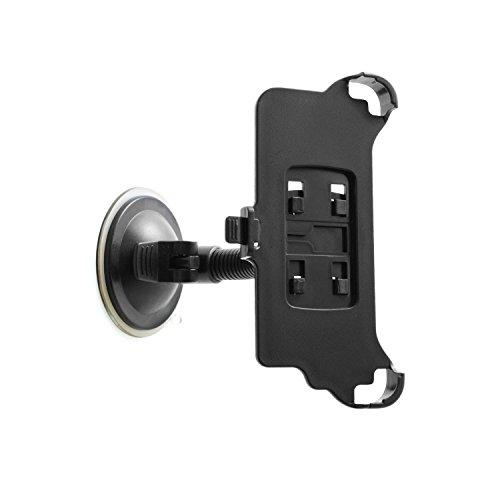 System-S–Supporto da auto supporto da auto ventosa parabrezza supporto con collo di cigno flessibile Gooseneck 10cm per iPhone 7Plus