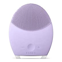 FOREO LUNA 2 Personalized Facial Cleansing Brush and Anti-Aging Facial Massager for Sensitive Skin