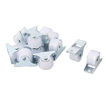 eDealMax Industria del rectángulo de la placa Superior de POCA potencia del sonido de Metal giratoria