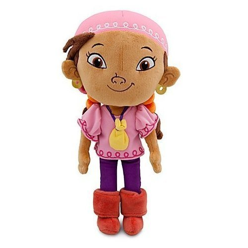 Jake and the Never Land Pirates Izzy Plush -- 11'' H by Disney (Jake And The Neverland Pirate Boots)