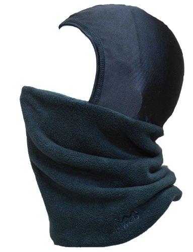 - Adults Ski Balaclava - Fleece Neck Tube With Silky Head Cover