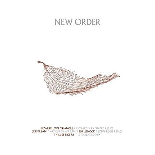 New Order , - Bizarre Love Triangle / Jetstream / Shellshock / Thieves Like Us - New State Recordings - - Order Shellshock New