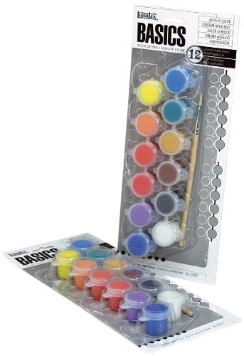Liquitex BASICS Acrylic Paint Paint Strips Set