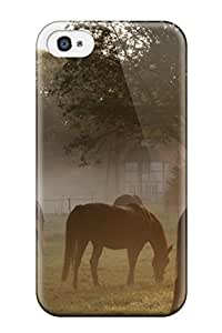 Awesome Design Horse Hard Case Cover For Iphone 4/4s