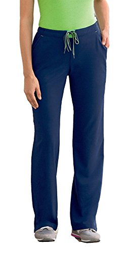 Collection Modern (Modern Fit Collection by Jockey Women's Convertible Drawstring Scrub Pant Medium New Navy)
