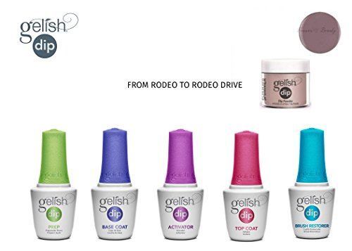 - Gelish Dip Powder Starter Kit FROM RODEO TO RODEO DRIVE