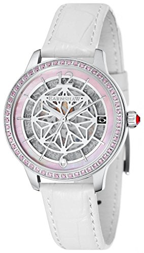 Thomas Earnshaw Womens The Lady Kew Watch - White/Pink