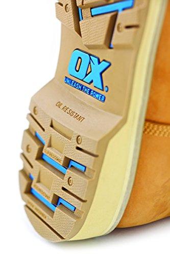 OX ox-s481209Pro Safety Boot, marrone chiaro, taglia 9