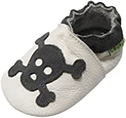 SAYOYO Baby Cute Elephant Soft Sole Leather Baby Shoes Baby Moccasins Infant Toddler Crib Shoes