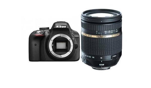 NIKON D3300 + TAMRON AF Objectif 18-270 Di II VC PZD: Amazon.es ...