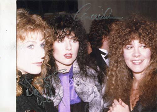 "HEART/ANN & NANCY WILSON with Stevie Nicks gorgeous signed 8x10 photo at""Studio 54"""