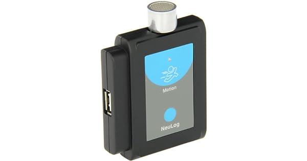 Amazon.com: neulog Sensor de movimiento Logger, 13 Bit ...