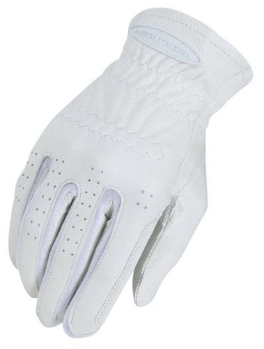 Heritage Pro-Fit Show Gloves, Size 9, White