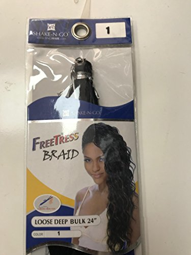 Freetress Braid Loose Deep Bulk 24