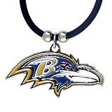 Siskiyou NFL Rubber Cord Logo Necklace