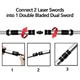 TWODNBD Laser Sword Light Up Saber, Newest 2-in-1