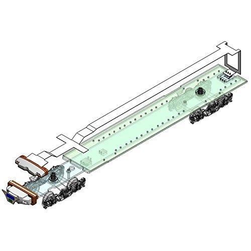 1/80 16.5mmゲージ 名鉄7000系パノラマカー 先頭車セット用ヘッドライト室内灯ユニットセット(2輌分セット) B01915GW7O