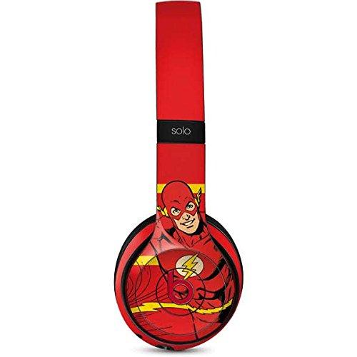 DC Comics Flash Beats Solo 3 Wireless Skin - Jagged Flash Vinyl Decal Skin For Your Beats Solo 3 Wireless