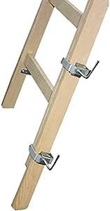 2 x extensión de 120 cm para madera Escalera de incluido 4 soportes de pintor de escalera de peldaños escalera - / x-Tools DEWEPRO: Amazon.es: Bricolaje y herramientas