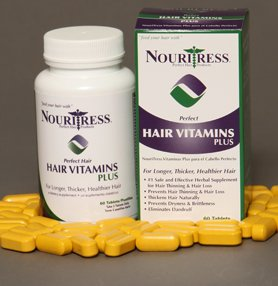 Price comparison product image Nouritress Perfect Hair Vitamins PLUS - 30 tabs.