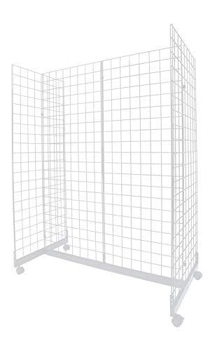 - White Grid Gondola Unit - 24