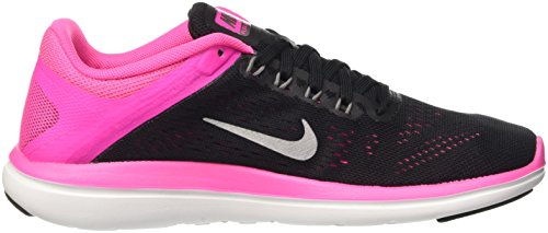 Pink Cool Grey Women Metallic Black Nike Flex 2016 White Blast RN 8qT0HSw