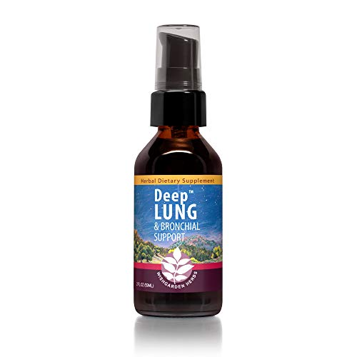 WishGarden Herbs Deep Lung - Lung Support Tincture with OSHA Root and Elecampane Root, Herbal Respiratory Support Lung Tonic, Promotes Healthy Lung Function