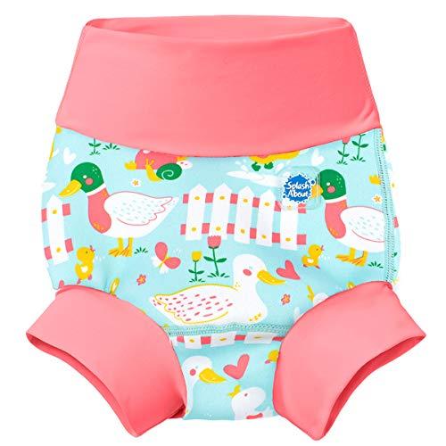 Splash About Unisex baby nieuwe en verbeterde Happy Nappy luier zwemmen kinderen nieuw geïmproved