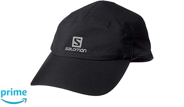 Salomon Waterproof Cap Gorra Impermeable, Unisex Adulto, Negro, Talla única Ajustable: Amazon.es: Deportes y aire libre
