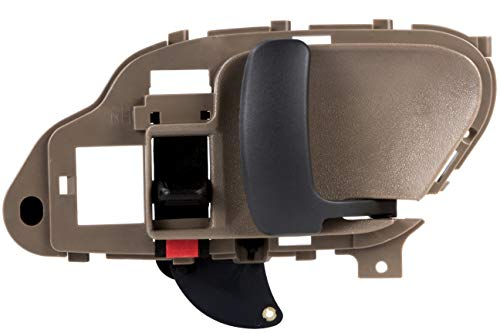 BOXI Beige Interior Front or Rear Right Door Handle RH Side For 1995 1996 1997 1998 1999 2000 2001 2002 Chevrolet GMC C1500 C2500 C3500 K1500 K2500 K3500 Pickup Suburban Chevy Tahoe 15708052,6077571 -