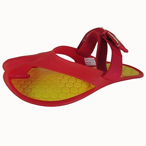 Vivobarefoot Men's Achilles Active Sandal, Red, 48 EU/14-14.5 M US