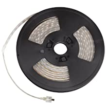 Kichler Lighting 310HRWH Task Work LED 10-Feet 24V High Output Outdoor Wet Tape Light, Black Tape with Red LED by Kichler Lighting