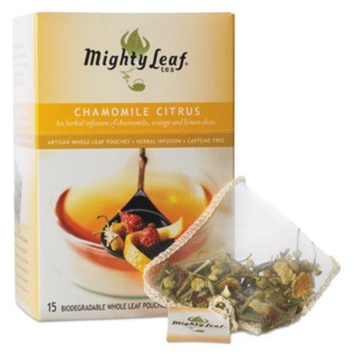 Mighty Leaf Tea, Chamomile Citrus --(Pack of 6)