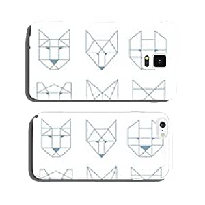 geometric animals cell phone cover case Samsung S5