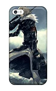 New Style Case Cover FwrQFvt13388EVFxH Blondes Winter Snow Guns Pixiv Sniper Rifles Anime Anime Boys Redjuice Compatible With Iphone 5/5s Protection Case