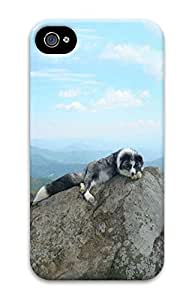 Taking a Nap Animal Custom iPhone 4/4S Case Cover ¨C Polycarbonate
