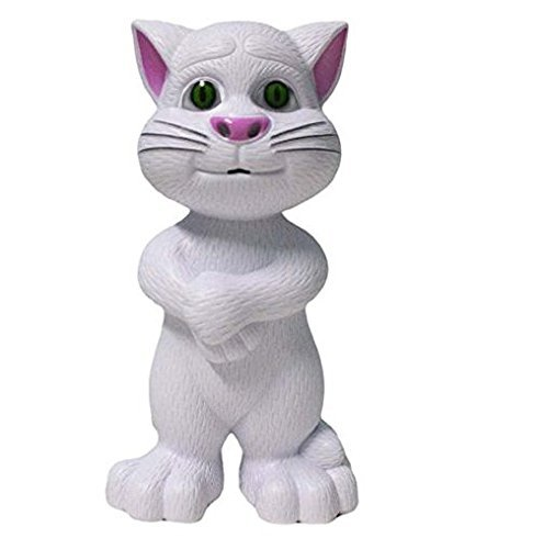 Sunshine Talking Cat with Stories and Songs, Touch Functions (White) …