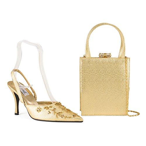 FARFALLA - Zapatos con correa de tobillo mujer Dorado - dorado