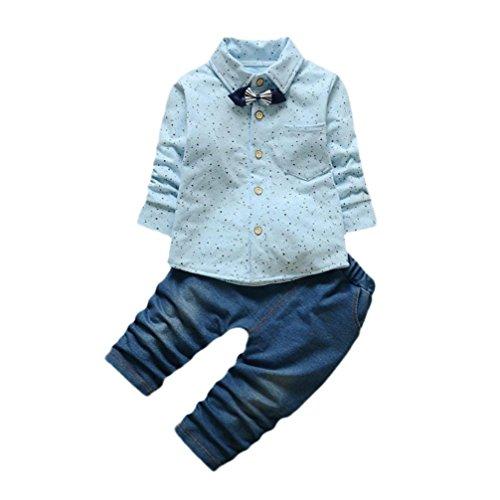 Blue 2 Cotton Jeans - 7