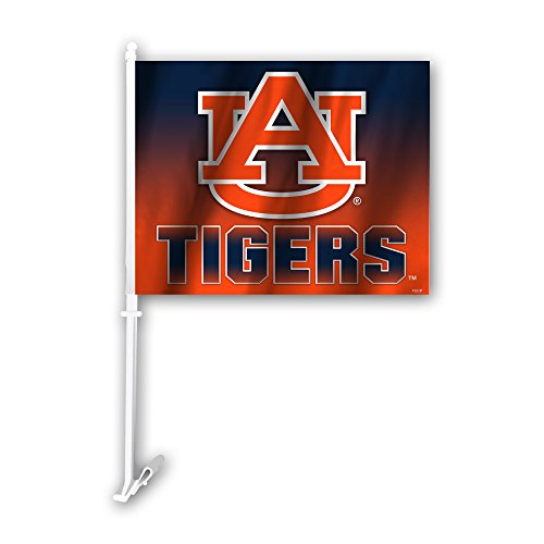 (Fremont Die NCAA Auburn Tigers Ombre Design Car Flag, 11